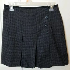 J Crew School Girl Wool Wrap Skirt